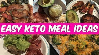 EASY KETO MEAL IDEAS | Just Taylor