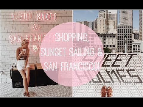 Shopping, Sunset Sailing & San Francisco!!  |  Trek America Travel Vlog