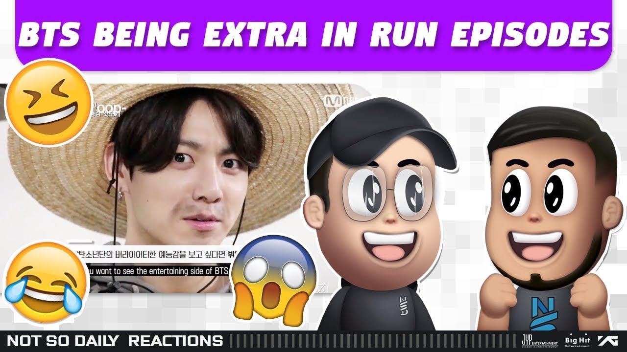 NSD REACT | BTS being extra in RUN BTS! episodes