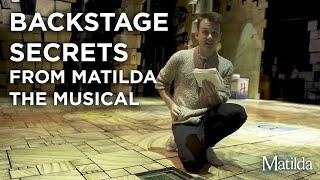 Backstage Secrets #7 | The Hidden Book | Matilda The Musical