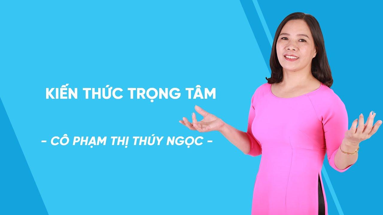 Kiến thức trọng tâm chủ đề oxi – hidro – nước – Hóa học lớp 8 – cô Phạm Thị Thúy Ngọc – HOCMAI