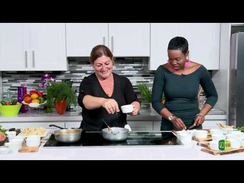 Chef it Up - Season 2 Premier: Chef Alexandra's Spicy Baked Grits with Seared Fresh Fish