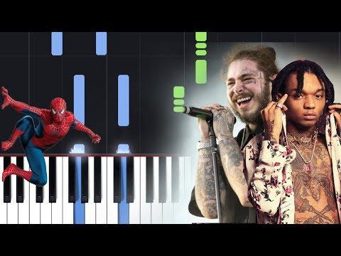 Post Malone, Swae Lee - Sunflower (Spider-Man Into The Spider-Verse) Piano Tutorial