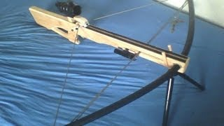 Repeat youtube video Homemade compound PVC crossbow