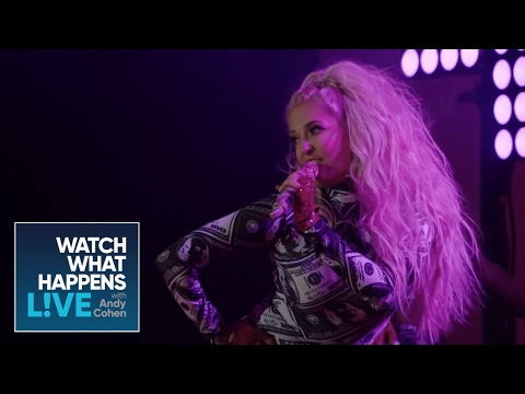 Erika Jayne Performs 'How Many F**ks?' Live From Los Angeles | WWHL