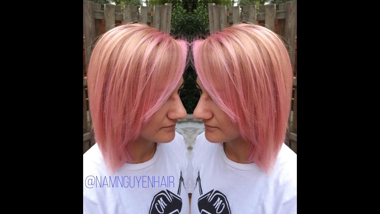 Dusty Pink With Pravana Hair Vlog Using Guy Tang S Balayage Kit