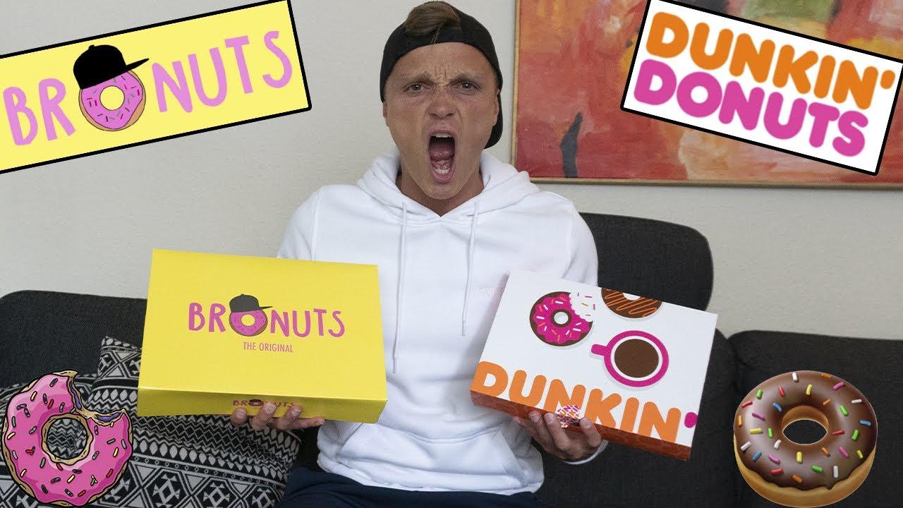 BRONUTS vs DUNKIN DONUTS - HVEM ER BEDST?
