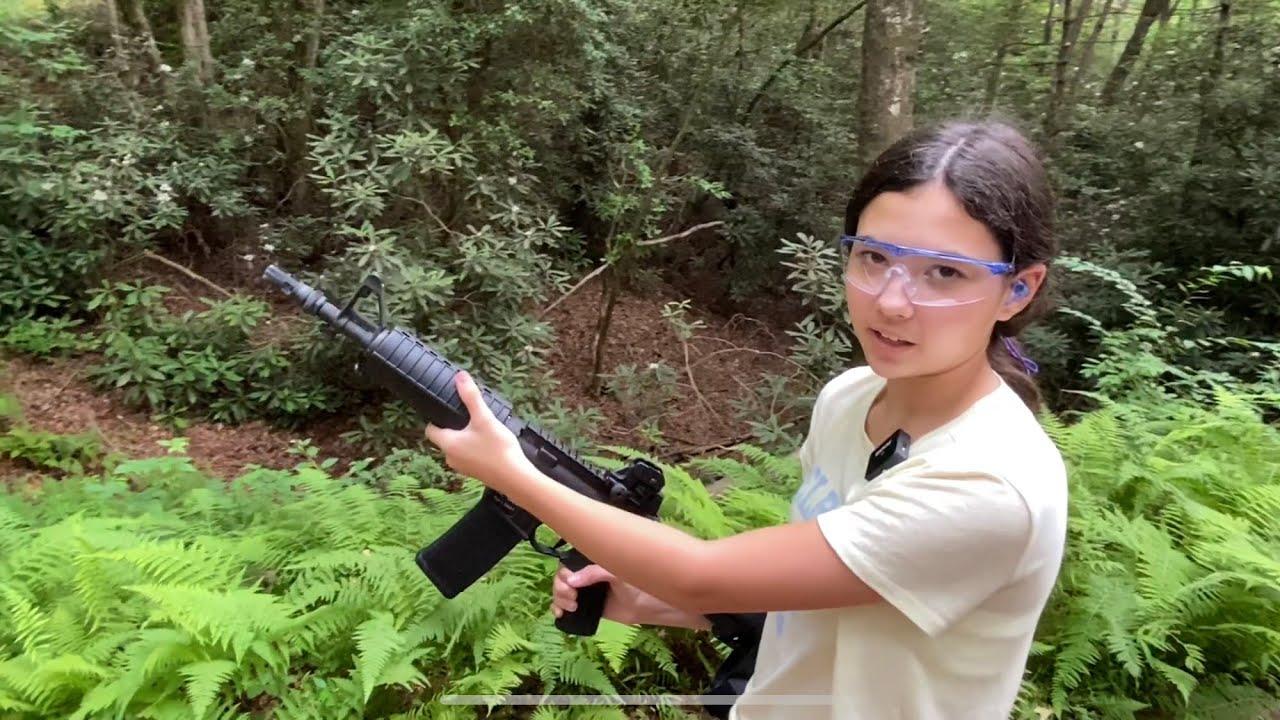 Mini-X shoots an AR