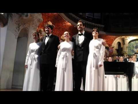 CONCERT ORFEÓN DONOSTIARRA  Palau de la Música  6 2 2016  1ª Part