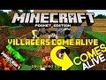 COMES ALIVE NO MINECRAFT PE 0.17.0 - Villagers Come Alive Add-On / Addons MCPE 0.17.0