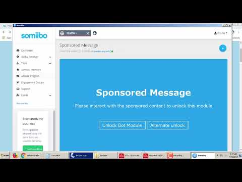 Websit Traffic Bot Using Somiibo