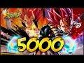 5 000 CRONO CRYSTAL SUMMONS SUPER SAIYAN GOD VEGETA IS IN DRAGON BALL LEGENDS mp3