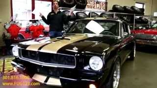 1965 Ford Mustang GT350R Hertz for sale with test drive, driving sounds, and walk through video