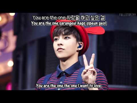 Xiumin (EXO) - You Are The One + [English subs/Romanization/Hangul]