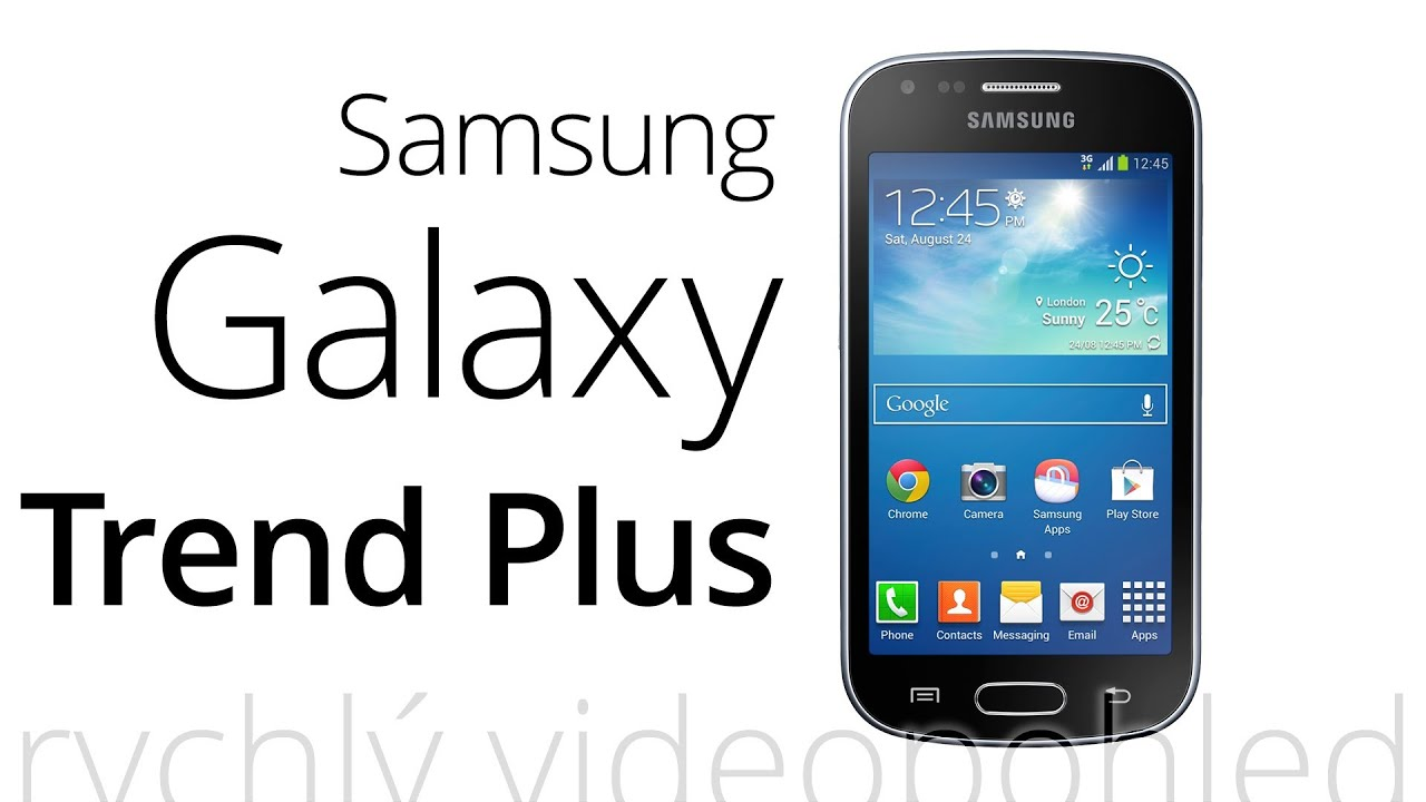 Samsung galaxy trend plus rychl videopohled youtube - Samsung galaxy trend lite mode d emploi ...