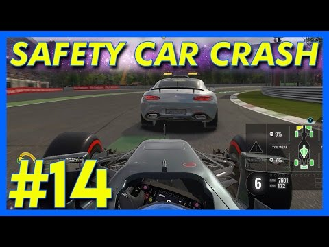F1 2016 : SAFETY CAR CRASH!!! (F1 2016 Career Mode, Italian GP, Part 14)