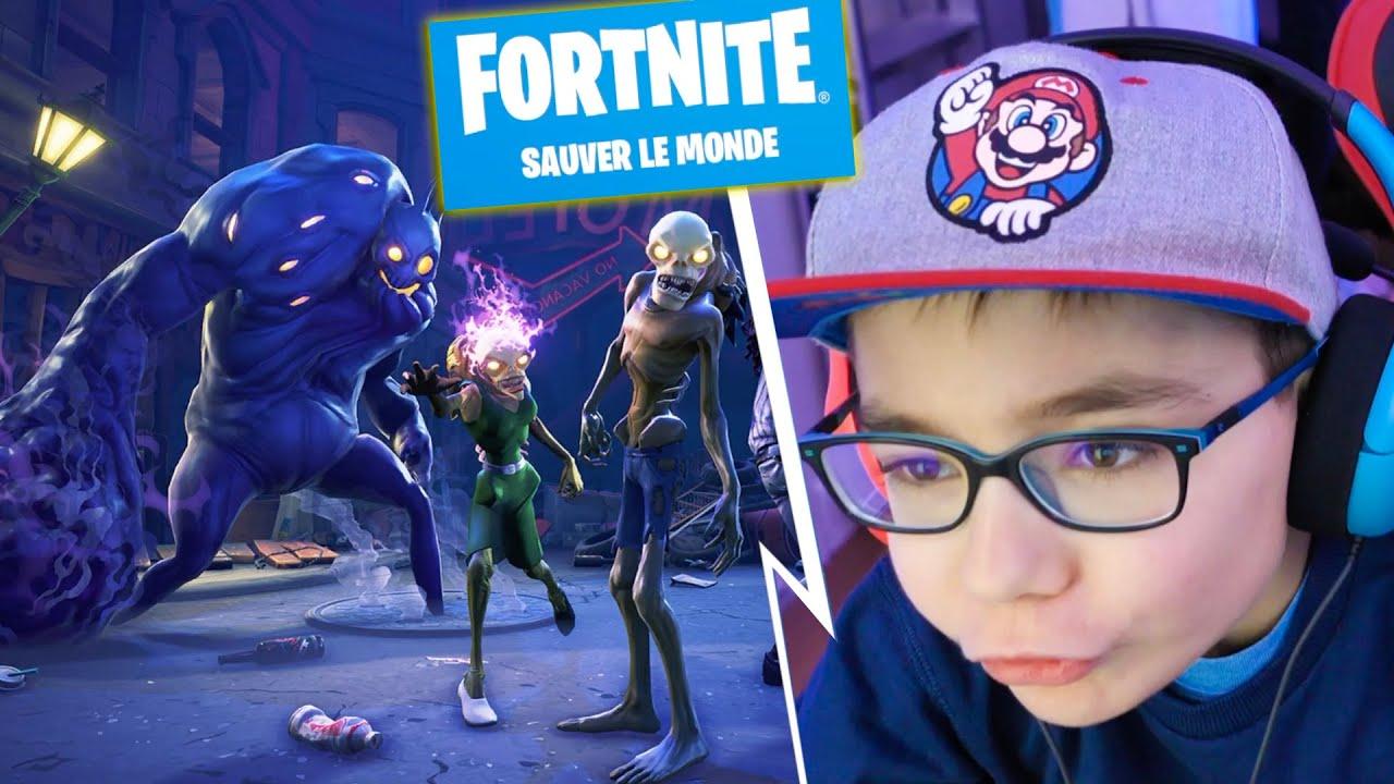 Download MA PREMIÈRE GAME SUR FORTNITE : SAUVER LE MONDE !