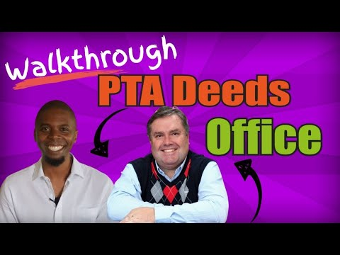It's Here: A Visit To The Pretoria Deeds Office & Unpacking The Conveyancing Process 🇿🇦🇿🇦