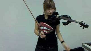 Apocalyptica ! xD - Path  on electric violin (stagg)