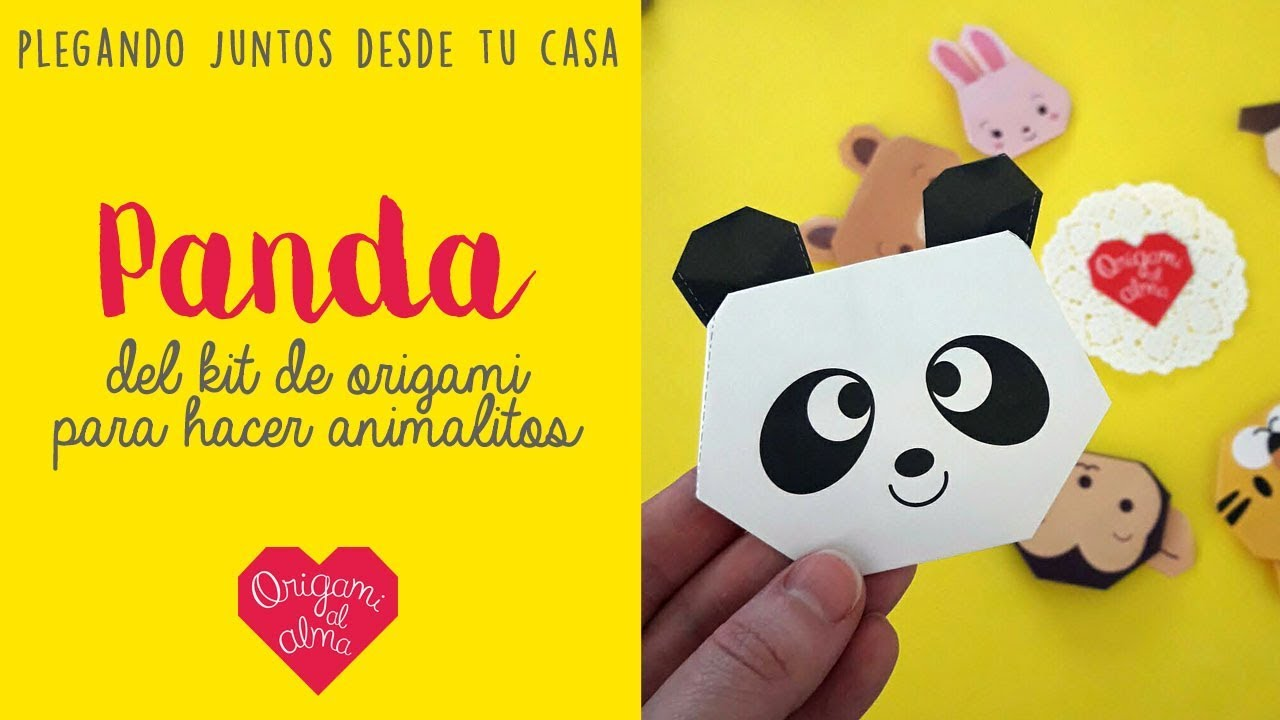 Panda Oso Origami P/ájaros Plegados Volando Papel Camiseta