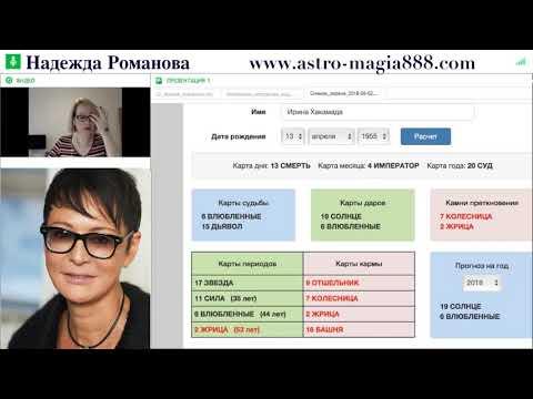 Ирина Хакамада - Нумерология ТАРО