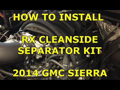 [HOW TO] Install Cleanside Separator Kit on a  2014+ GMC Sierra (Easy)
