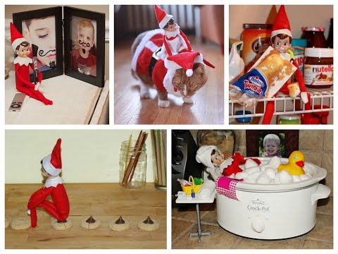 Randi West - We've got your Elf on a Shelf ideas
