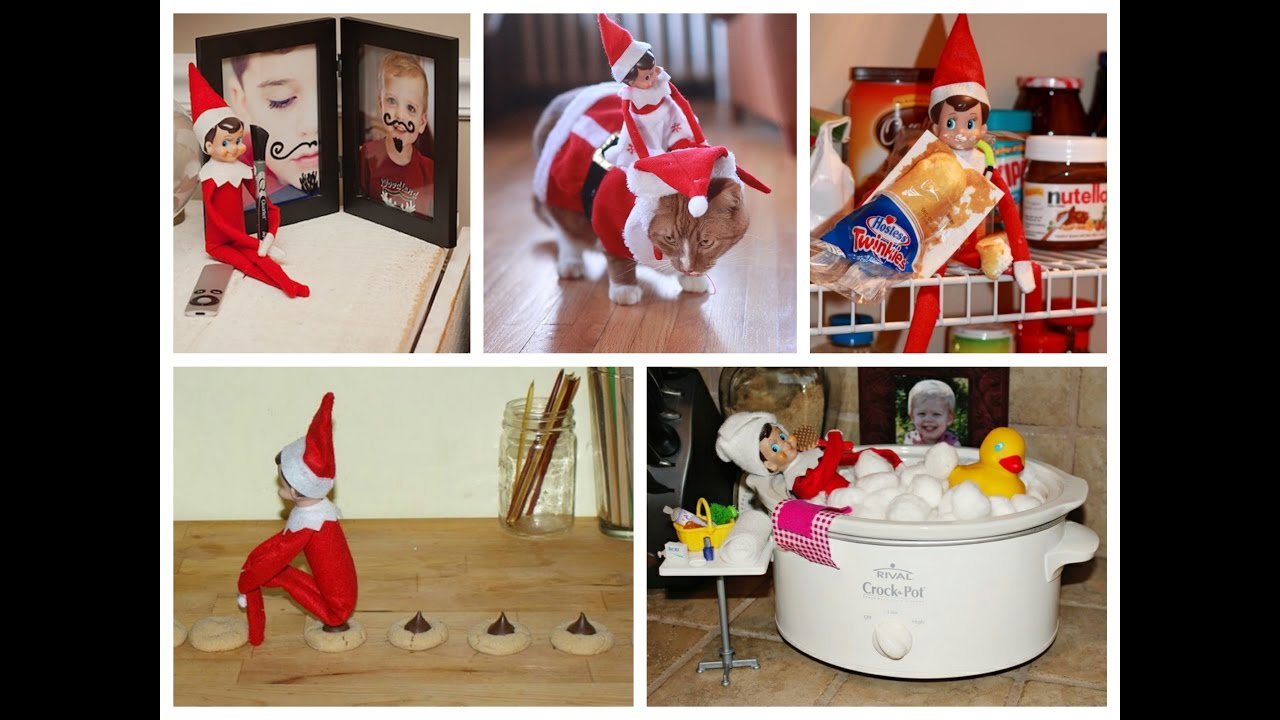 best elf on the shelf ideas youtube. Black Bedroom Furniture Sets. Home Design Ideas