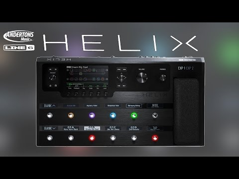 Line 6 Helix Review - 1st review in the world of a final production model!