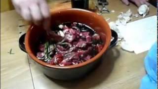 Video recipe - traditional Tuscan cuisine - italian food