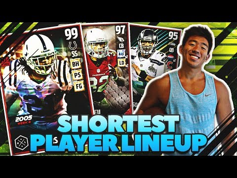 SHORTEST PLAYER LINEUP! AMAZING COMEBACK! MADDEN 17 ULTIMATE TEAM