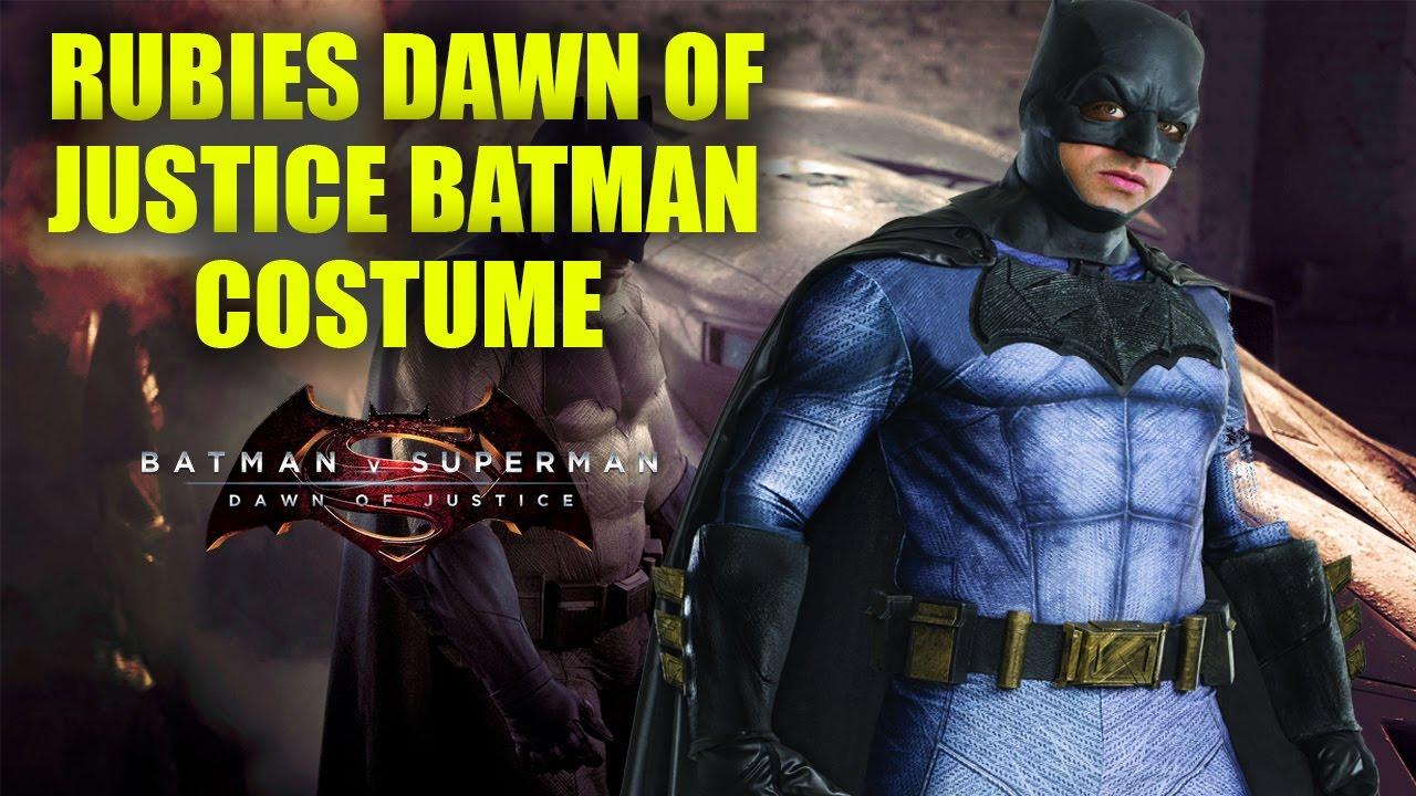 Rubies Batman Dawn Of Justice Costume Review - YouTube 1de4024a63b1e