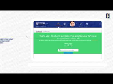 How to make payment for DEWA through Emirates NBD Online Banking