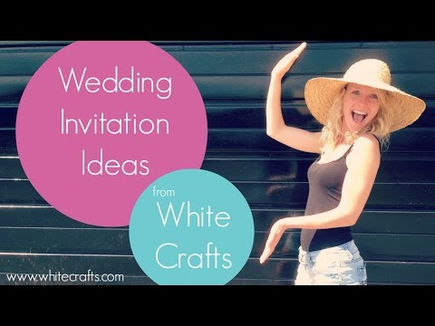 Wedding Invitation ideas!!