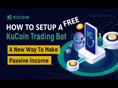 How To Setup A FREE KuCoin Automated Bitcoin Crypto Trading Classic Grid Bot Passive Income Strategy
