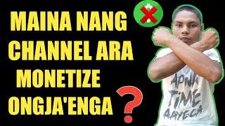 MAINA NANG CHANNEL ARA MONETIZE ONGJAENGA? || GARO VIDEO