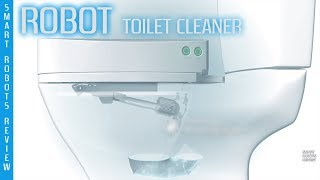 Robotic Toilet Cleaner by SpinX - Smart Robots Review