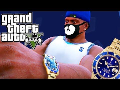 Grand Theft Auto V: Franklin got a Rolex (Ayo & Teo - Rolex) ROLI ROLI