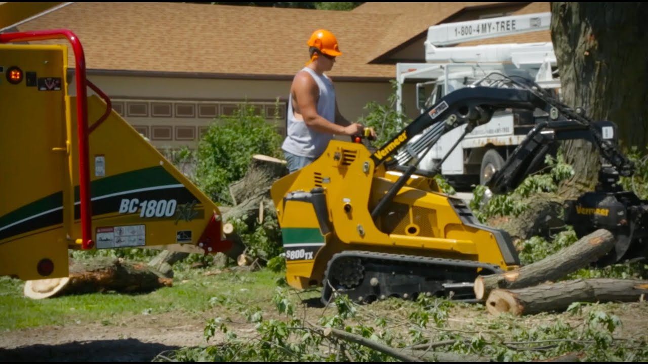 Commercial Wood Chippers, Brush Chippers | Vermeer Australia