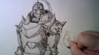 Drawing the Elric Brothers