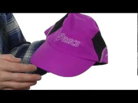 asics hat purple