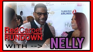 Nelly and Shantel Jackson Give Tips On How To Be A Good Man