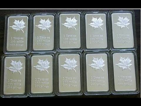 100 Mills Silver and Gold Bullion - BEWARE, its a Scam!