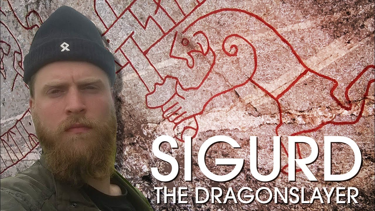 Sigurd the Dragonslayer - A Viking Rune Stone