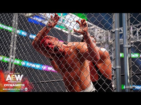 THE FIRST EVER STEEL CAGE MATCH IN AEW IS NOTHING SHORT OF AMAZING | AEW DYNAMITE 2/19/20, ATLANTA