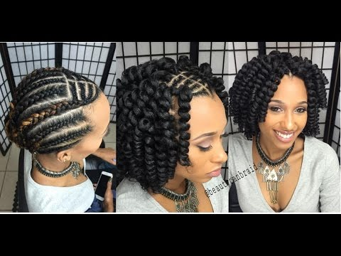 braided styles for natural hair 141 flawless curls with mali twist hair 2866 | hqdefault