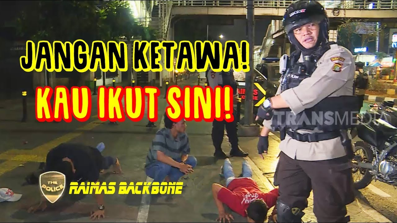 Gak Kapok, Tim Raimas Backbone Tangkap Pemuda Ini Lagi | THE POLICE (18/02/20) Part 1