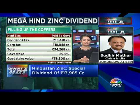 Hindustan Zinc approves mega dividend of ₹ 13,985 cr.