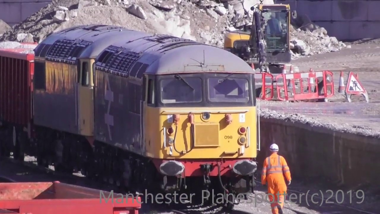 Download (HD) Trains At Peak Forest Class 56 X2 60. 66. DB / FL / GBRF On The 04/05/2019