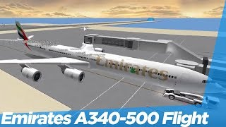 [ROBLOX] Emirates Airlines™ A340-500 Flight!